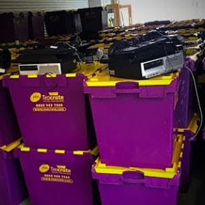 office equipment storage